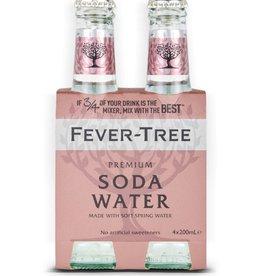 Fever Tree Fever Tree Club Soda  4 pack 200 ml