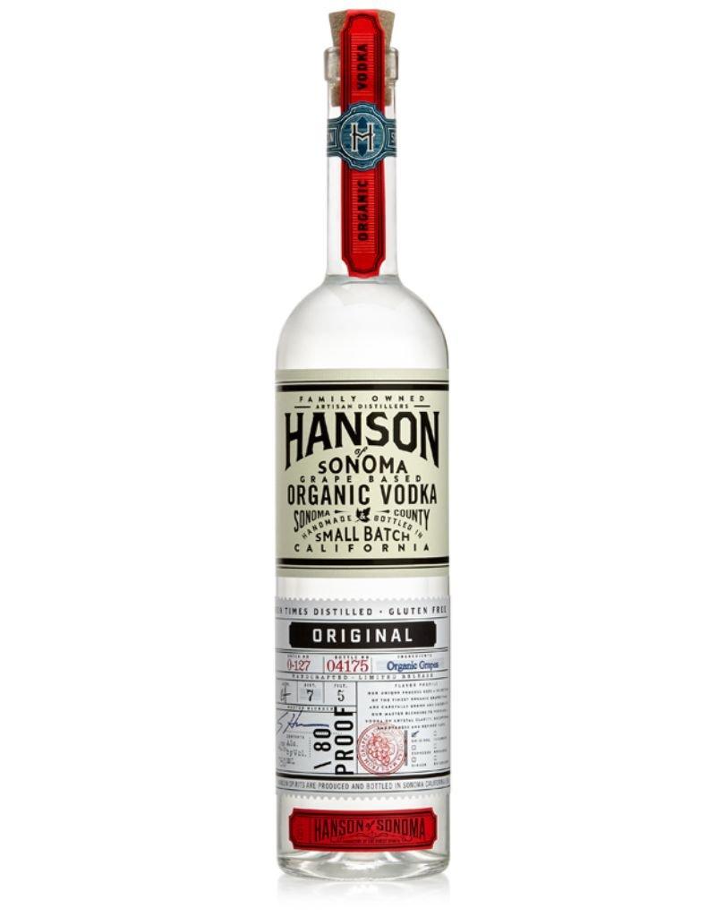 Hanson Hanson Organic Original Vodka  750 ml