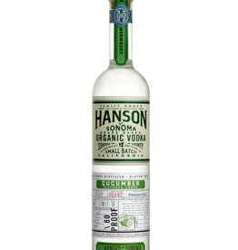 Hanson Hanson Organic Cucumber Vodka  750 ml
