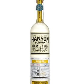 Hanson Hanson Organic Ginger Vodka  750 ml