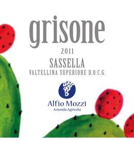 Alfio Mozzi 2013 Mozzi Sassella Grisone Vatellina Superiore 750 ml