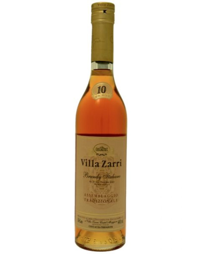 Villa Zarri Villa Zarri 10 year old Brandy Italiano  750 ml