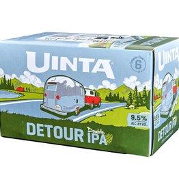 Uinta Uinta Detour Double IPA cans  6 pack 12 oz
