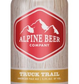 Alpine Beer Co. Truck Trail Pale Ale Can 6 pack 12 oz