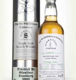 Signatory Vintage  Scotch Whisky Co. Ltd. Signatory 2006 Glenlivet Speyside Un-chillfiltered Collection Single Malt Scotch 750ml