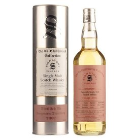 Signatory Vintage  Scotch Whisky Co. Ltd. 2002 Signatory Longmorn 15 Year Scotch  750ml