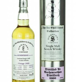 Signatory Vintage  Scotch Whisky Co. Ltd. 2000 Signatory Auchentoshan 18 Year Scotch  750ml