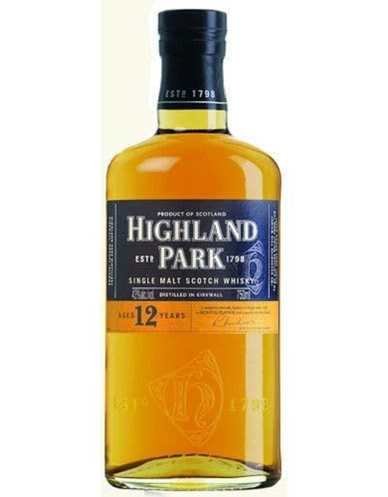 Highland Park Highland Park 12 year old Island Single Malt Scotch 750 ml