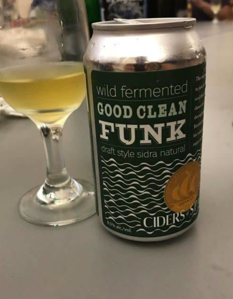 Ciders of Spain Good Clean Funk Can 4 pack 12 oz