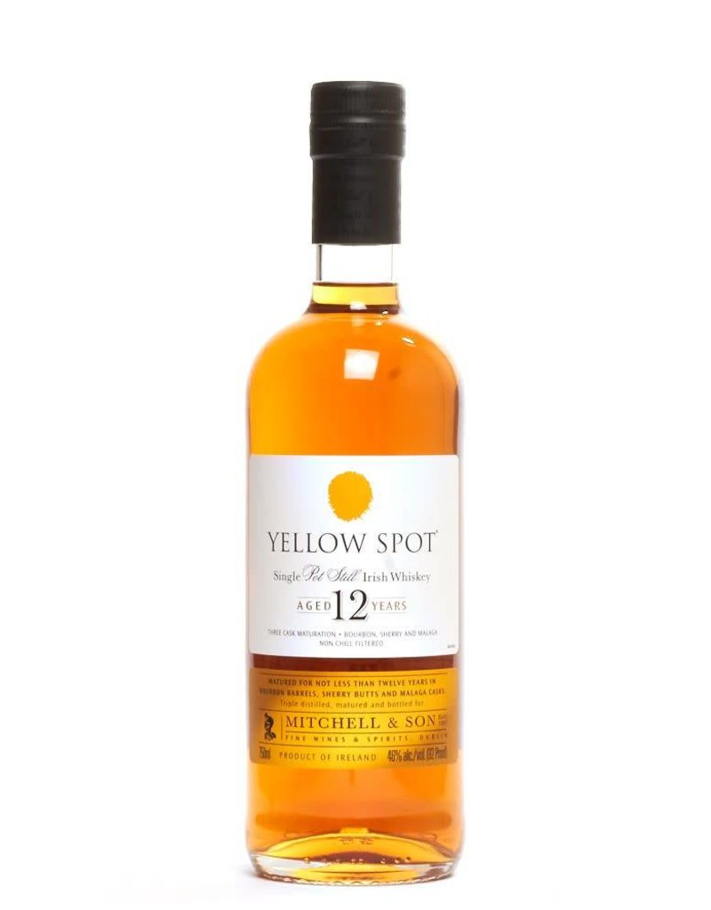 Jameson's Yellow Spot 12 year old Pot Still Irish Whiskey  750 ml