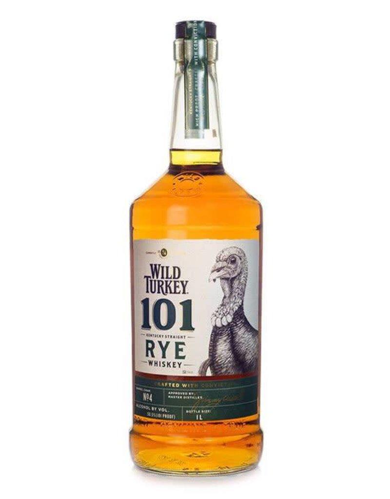 Wild Turkey Wild Turkey 101 Rye Whiskey  1000 ml