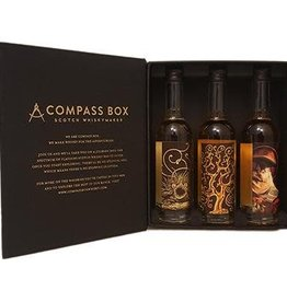 Compass Box Compass Box Malt Whiskey Collection 3 pack 50 ml