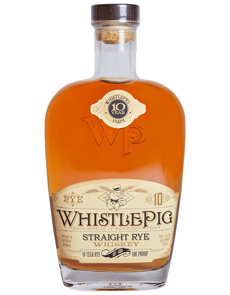 Whistle Pig Whistle Pig Farm 10 year old Straight Rye  50 ml