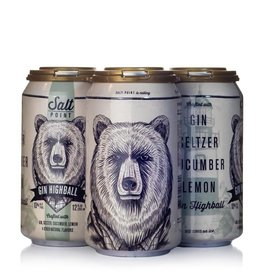 Salt Point Salt Point Gin Highball 4 pack 12 oz