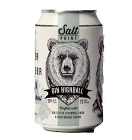 Salt Point Salt Point Gin Highball 12 oz SINGLE