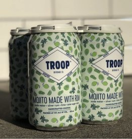 Troop Mojito Made with Rum 12 oz SINGLE