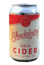 Shacksbury Shacksbury ARLO Wild Fermented Cider Cans 4 pack 12 oz