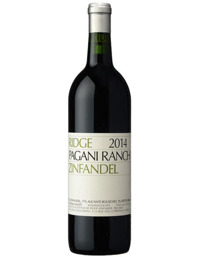Ridge 2018 Ridge Pagani Ranch Zinfandel  750 ml