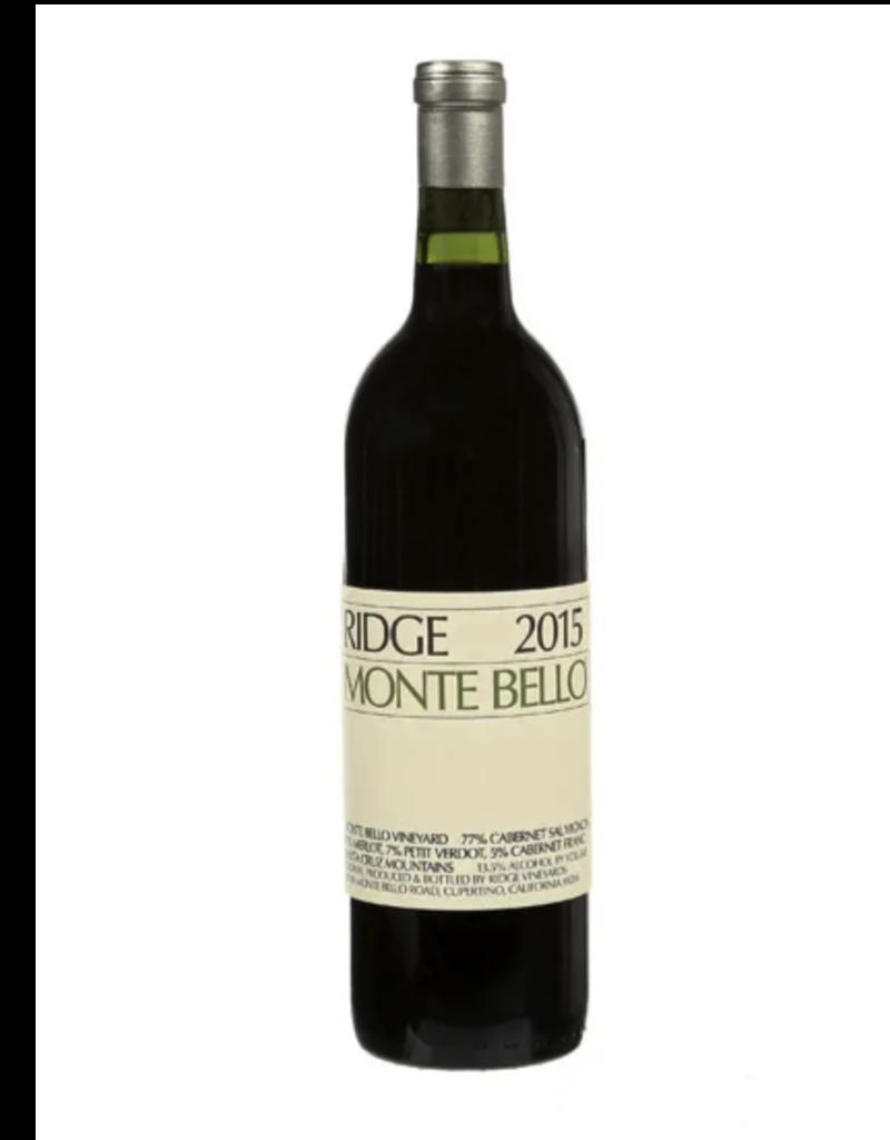 Ridge 2016 Ridge Monte Bello  750 ml