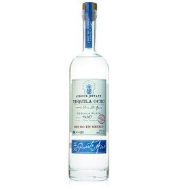 Ocho Tequila Ocho Los Aguilas Plata Tequila  750 ml