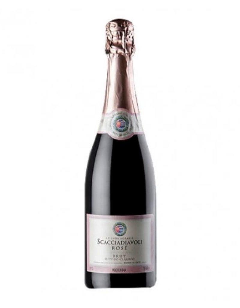 Scacciadiavoli NV Scacciadiavoli Vino Spumante Brut Rosé  750 ml