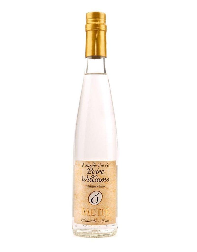 Mette Mette Eau de Vie Poire Williams Alsace 375 ml