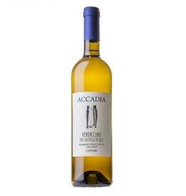 Accadia 2016 Accadia Cantori Verdicchio Castello del Jesi Classico  750 ml