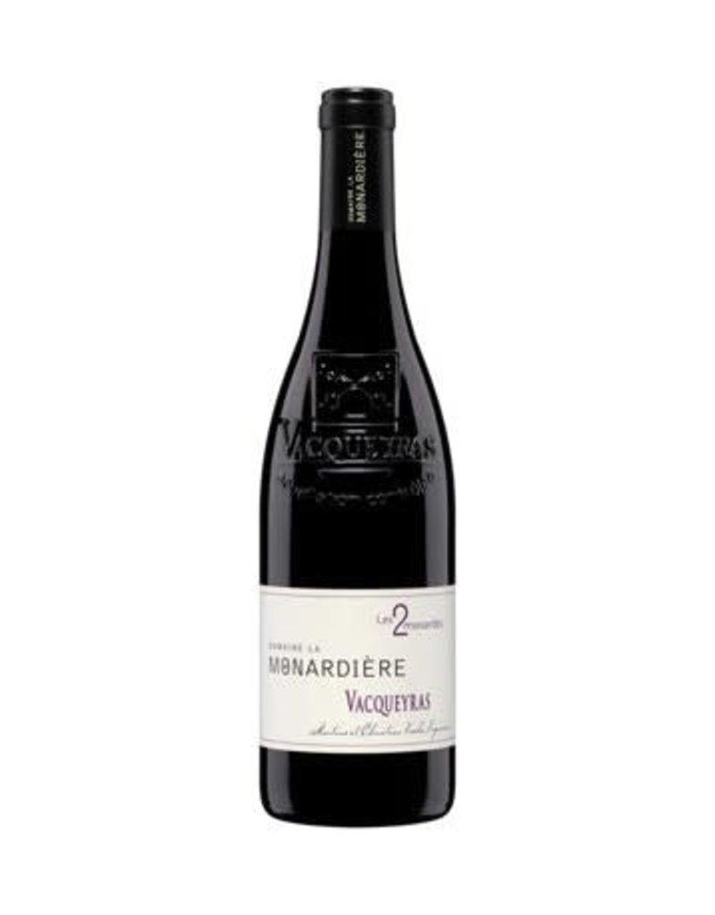 Monardiere 2018 Dom. La Monardiere Vacqueyras Les 2 Monardes  750 ml