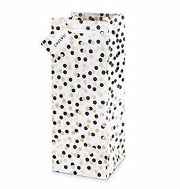 Cakewalk Cakewalk Tuxedo Dots 1.5L Gift Bag