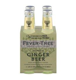 Fever Tree Fever Tree Ginger Beer  4 pack 200 ml