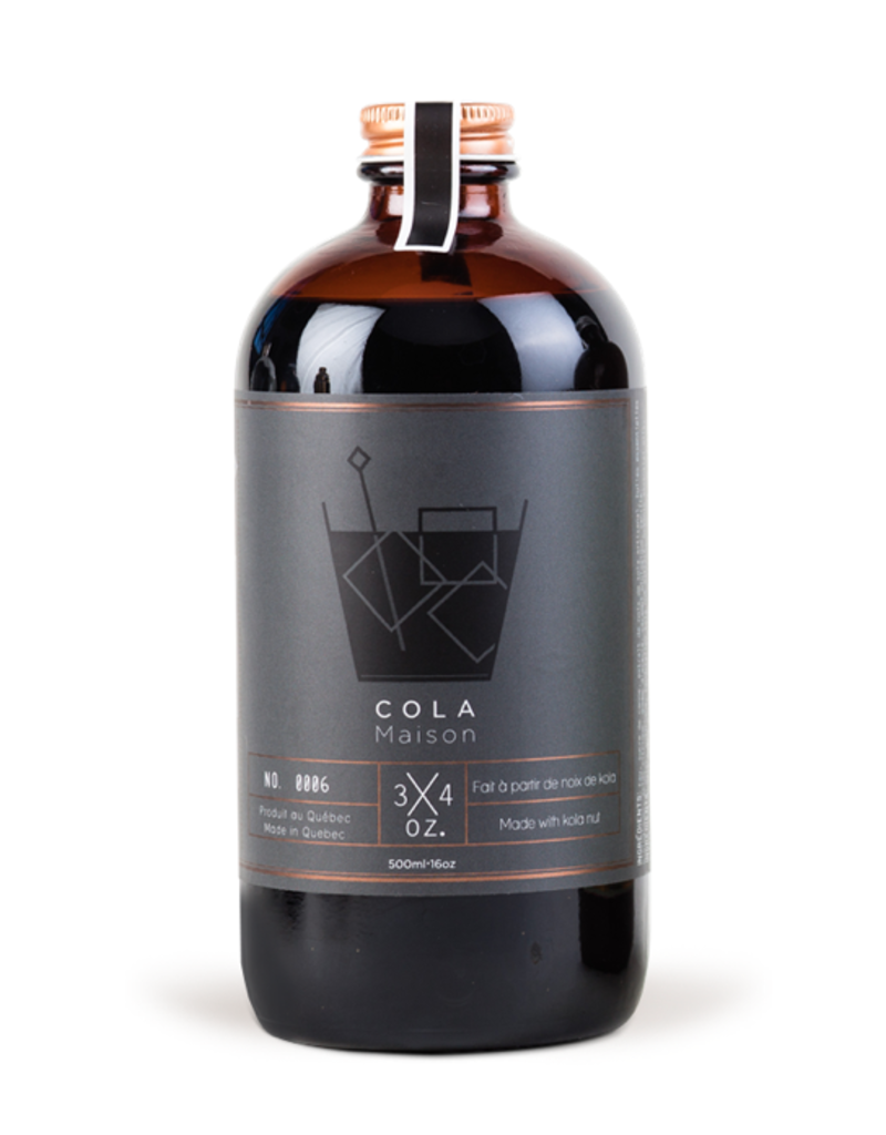 3/4 oz 3/4 oz. Cola Syrup  500 ml