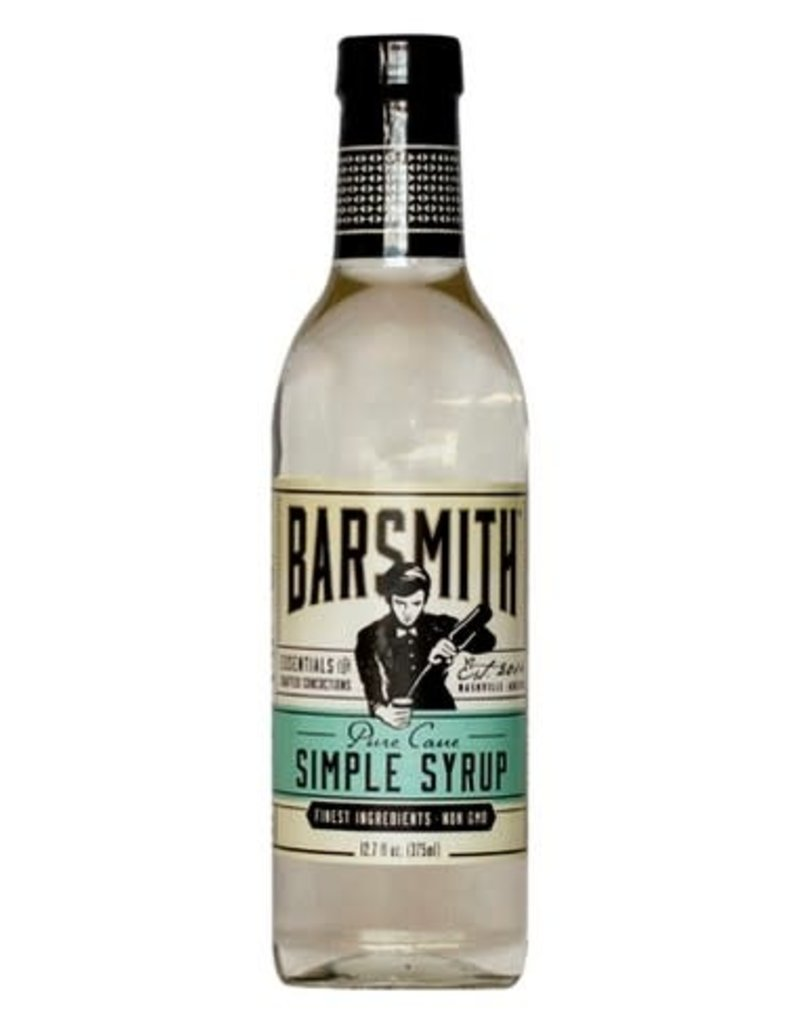 Barsmith Pure Cane Simple Syrup 375 ml