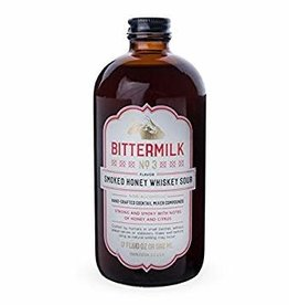 Bittermilk Bittermilk No.3 Smoked Honey Whiskey Sour  17 oz