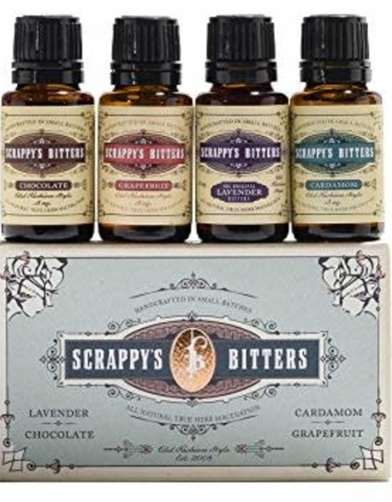 Scrappy's Scrappy's Bitters Sampler Exotic  4 pack .5 oz