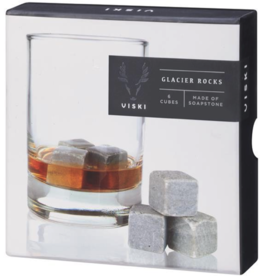 True Brands Viski Soapstone Glacier Rocks
