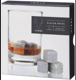 True Brands Viski Soapstone Glacier Rocks