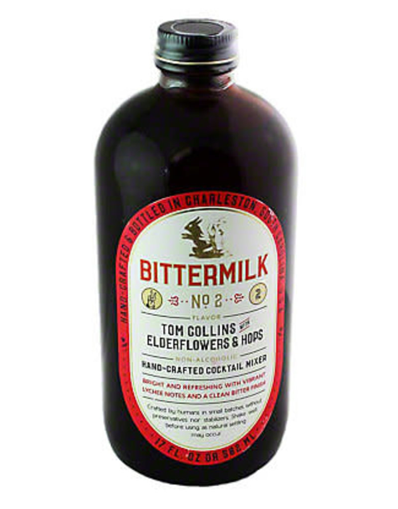 Bittermilk Bittermilk No.2 Elderflower & Hops Tom Collins  17 oz