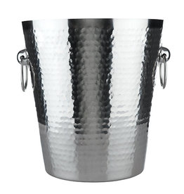 True Brands True Hammered Ice Bucket