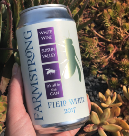 2018 Farmstrong Field White Cans  12 oz SINGLE