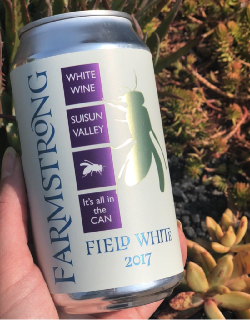 2018 Farmstrong Field White Cans SINGLE 12 oz