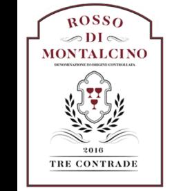 2016 Tre Contrade Rosso di Montalcino  750 ml