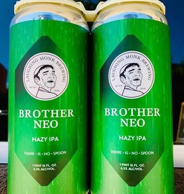 Laughing Monk Brewing Company Laughing Monk Brother Neo Hazy IPA   4 pack 16 oz