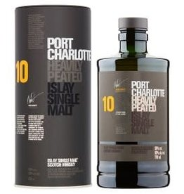 Bruichladdich Bruichladdich 10 year old Port Charlotte Islay Single Malt Scotch 750 ml