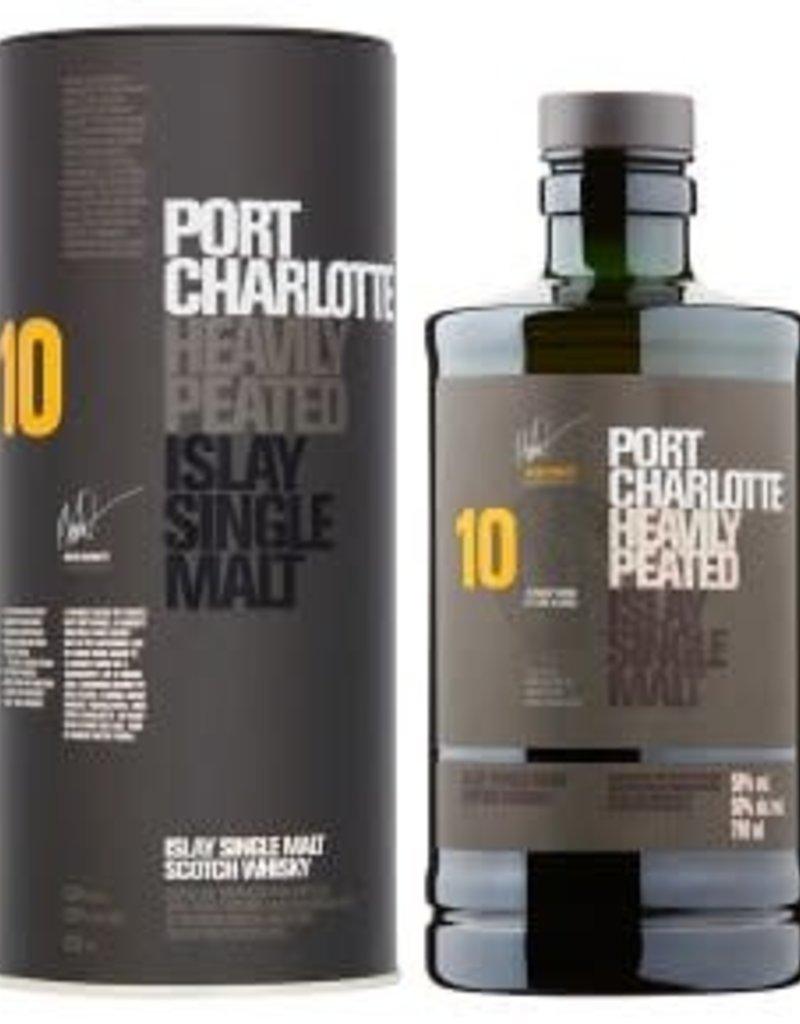 Bruichladdich Bruichladdich 10 year old Port Charlotte Islay Single Malt Scotch 750 ml