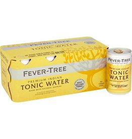 Fever Tree Fever Tree Indian Tonic Water CANS  8 pack 150 ml