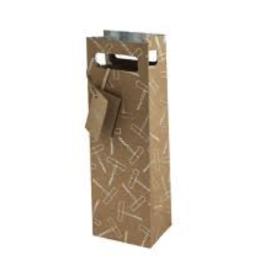 Cakewalk Cakewalk Foil Corkscrew Gift Bag