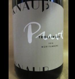 Knauss 2017 Knauss Pure Trollinger Wurttemberg 750 ml