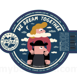 Mikkeller Mikkeller San Diego We Dream Together Double IPA Can 4 pack 16 oz