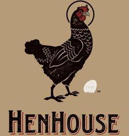 Henhouse Henhouse Pure Black Saison  4 pack 16 oz