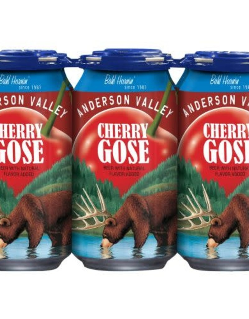 Anderson Valley Anderson Valley Cherry Gose Cans  6 pack 12 oz